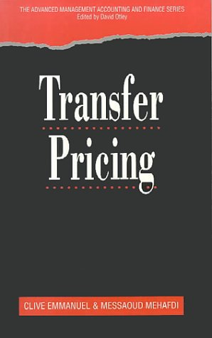 9781861524348: Transfer Pricing (Advanced Management Accounting & Finance)
