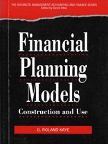 9781861524461: Financial Planning Models (Advanced Management Accounting & Finance)