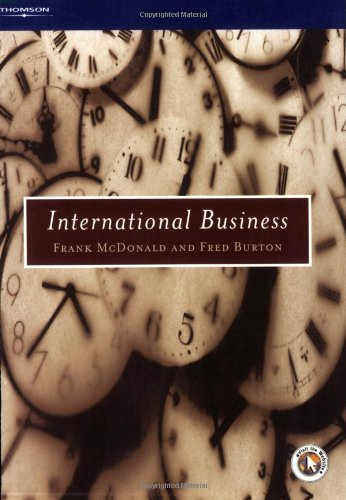 International Business: Frank MCDONALD and