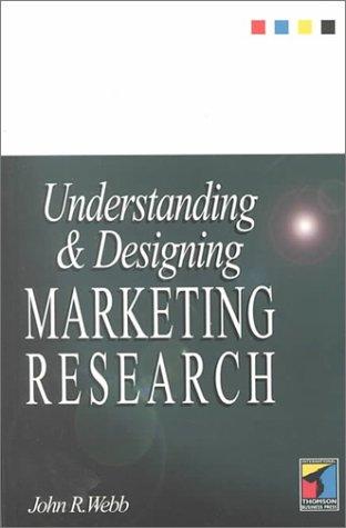 9781861524645: Understanding & Designing Marketing Research
