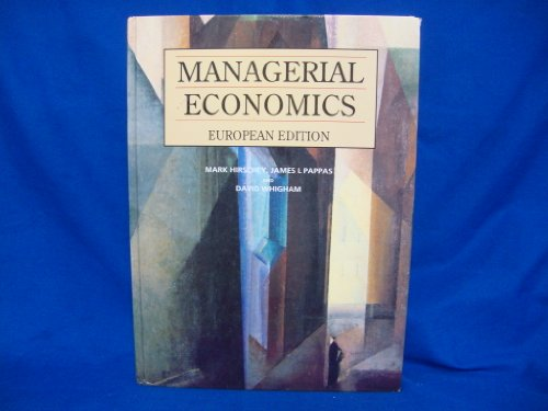 managerial economics 12 edition by mark Editions for managerial economics: 0324588860 (hardcover published in 2008), 0030974925 (), 032428893x (hardcover published in 2005), 0324584849 (hardcov.