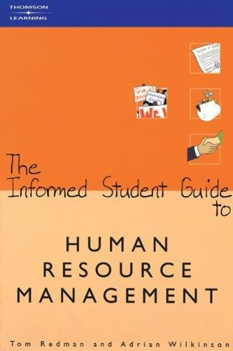 9781861525413: The Informed Student Guide to Human Resource Management