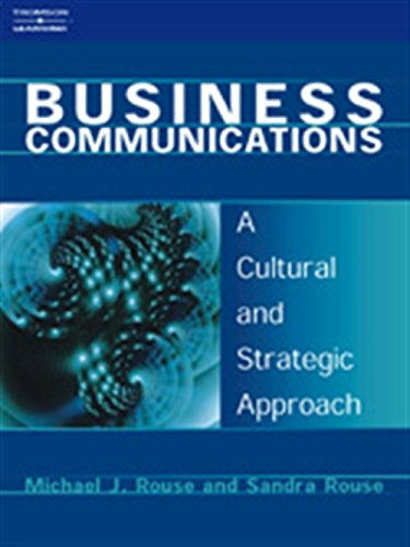 9781861525444: Business Communications: A Cultural and Strategic Approach
