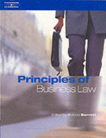 Principles of Business Law: Brenda Barrett