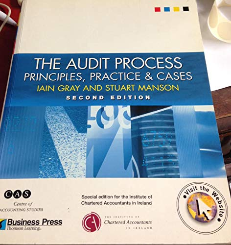 9781861525888: The Audit Process: Principles, Practice and Cases