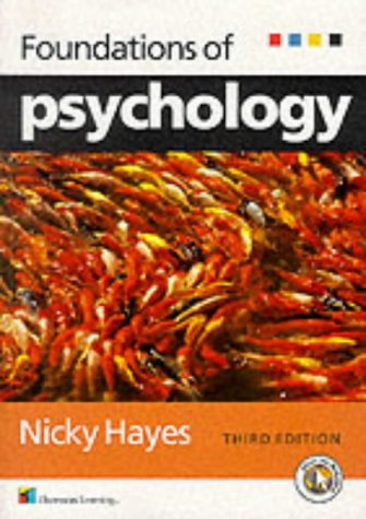 9781861525895: Foundations of Psychology: An Introductory Text