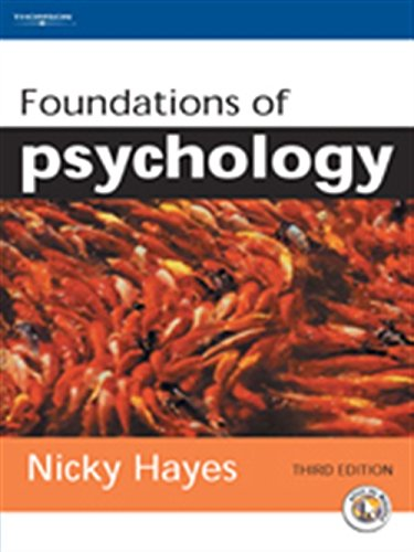 Foundations of Psychology: An Introductory Text: Hayes, Nicky