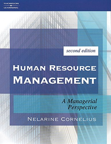 9781861526106: Human Resource Management: A Managerial Perspective: A Managerial Perpsective