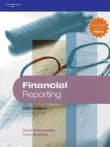 Financial Reporting: Alexander, David