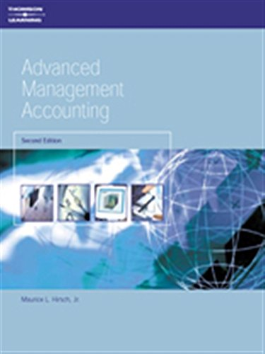 9781861526762: Advanced Management Accounting