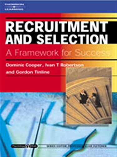 Recruitment and Selection: A Framework for Success: Dominic Cooper, Ivan