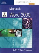 9781861528278: Microsoft Word 2000 - Illustrated Second Course: European Edition