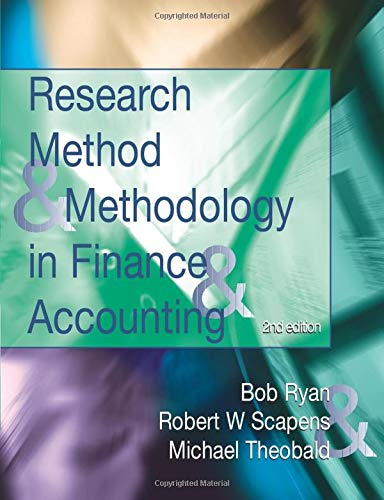 9781861528810: Research Methods and Methodology in Finance and Accounting