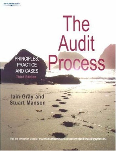 9781861529466: The Audit Process: Principles, Practice & Cases