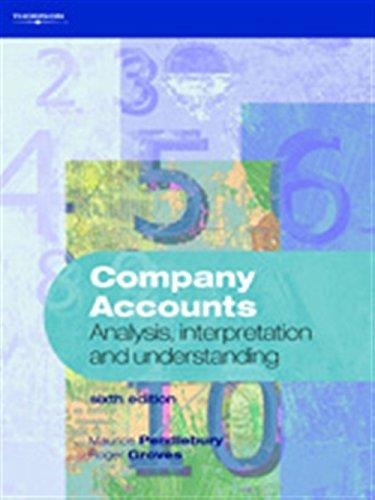 Company Accounts: Analysis, Interpretation and Understanding: Analysis, Interpretation, ...