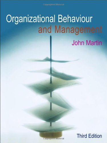 9781861529480: Organizational Behaviour And Management