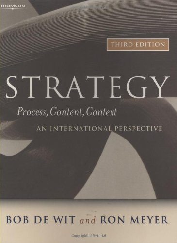 9781861529640: Strategy: Process, Content, Context