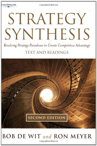9781861529657: Strategy Synthesis: Resolving Strategy Paradoxes To Create Competitive Advantage