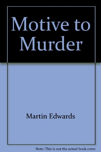 9781861553249: Motive to Murder