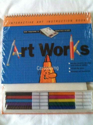 Artworks Cartooning [With 32-Page Art Instruction Book and 10 Felt-Tip Pens]: Hammond, Andy