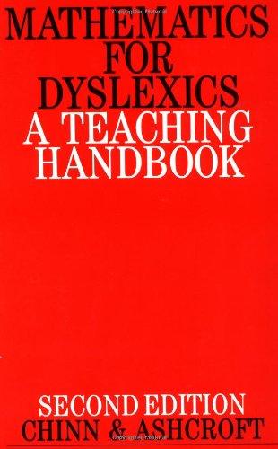 9781861560438: Mathematics for Dyslexics: A Teaching Handbook