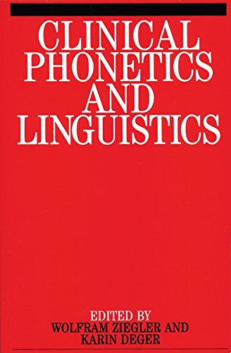 9781861560544: Clinical Phonetics and Linguistics (Exc Business And Economy (Whurr))