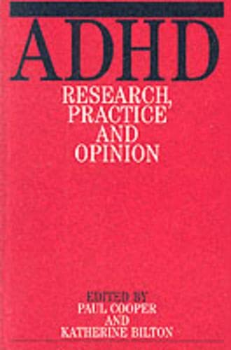 9781861561084: Adhd: Research Practice and Opinion