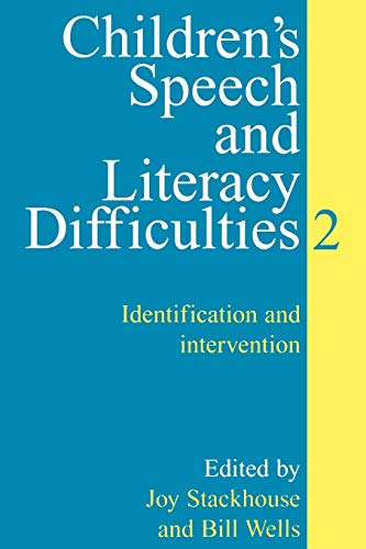 9781861561312: Children's Speech and Literacy Difficulties: Identification and Intervention: Book II