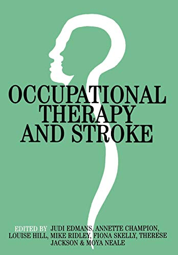 9781861561985: Occupational Therapy and Stroke