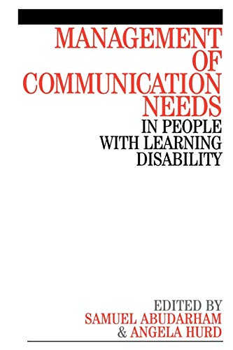 Management of Communication Needs in People with Learning Disability: Wiley