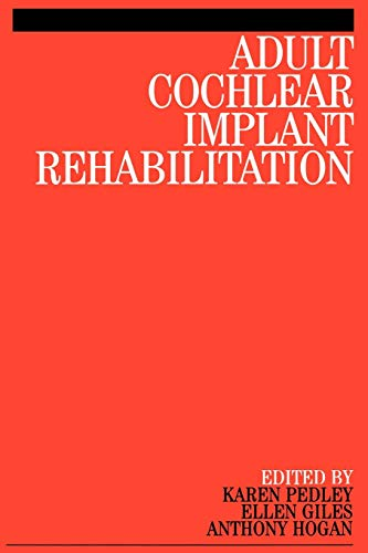 9781861563217: Adult Cochlear Implant Rehabilitation