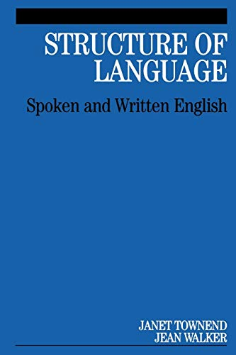 9781861564290: Structure of Language: Spoken and Written English