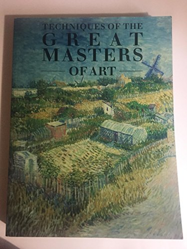 9781861605610: Techniques of the Great Masters of Art