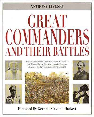 9781861606228: Great Commanders and Their Battles