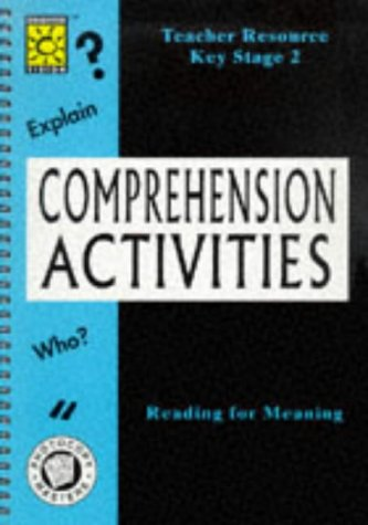 9781861720245: Comprehension Activities (Teacher Resource)