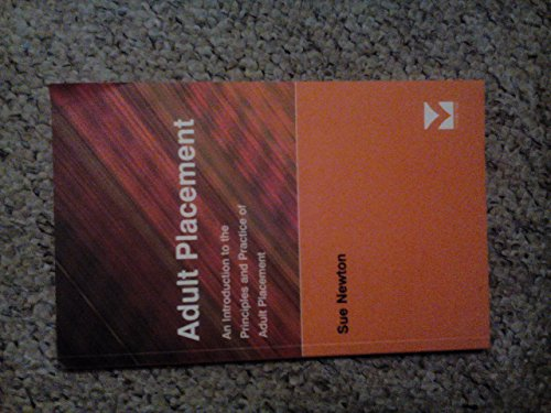 9781861780751: Adult Placement: An Introduction to the Principles and Practice of Adult Placement