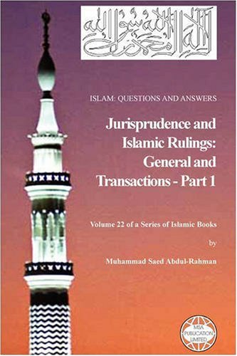 9781861794093: Islam: Questions and Answers - Jurisprudence and Islamic Rulings (Part 1)