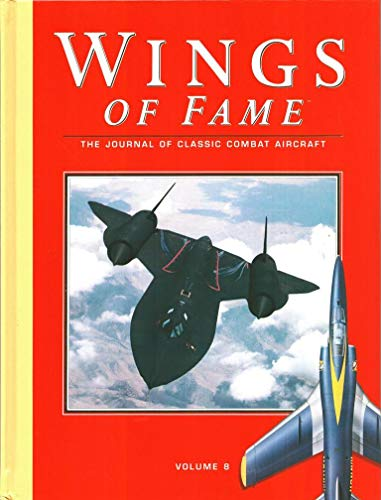 9781861840097: Wings of Fame, The Journal of Classic Combat Aircraft - Vol. 8