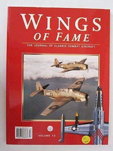 9781861840257: Wings of Fame, The Journal of Classic Combat Aircraft - Vol. 13