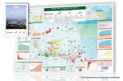 9781861863096: Energy Map of Trinidad & Tobago 2012