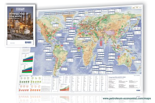 9781861863171: Energy Map of the World 2012