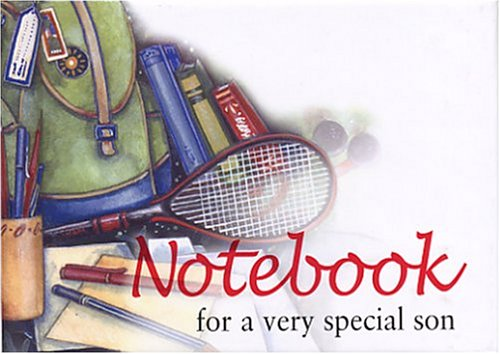 9781861875846: For a Very Special Son Notebook (To-Give-and-to-Keep)