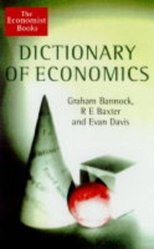 9781861970732: The Dictionary of Economics (The Economist Books)