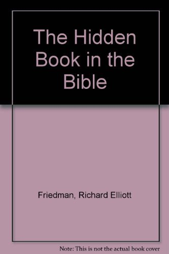 9781861971760: The Hidden Book in the Bible