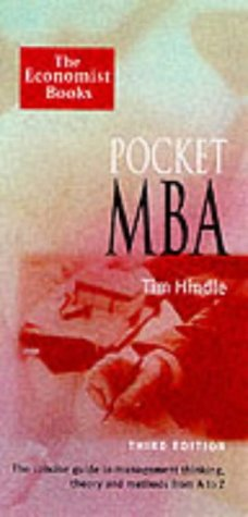 9781861972569: Pocket MBA (The Economist Books)