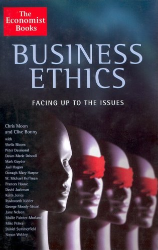 9781861972811: Business Ethics: Facing Up To the Issues