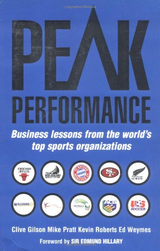 9781861975034: Peak Performance: Business Lessons from the World's Top Sports Organizations