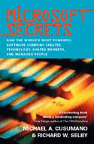9781861975324: Microsoft Secrets: How the World's Most Powerful Software Company Creates Technology, Shapes Markets, and Manages People