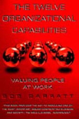9781861975720: The Twelve Organizational Capabilities: Valuing People at Work