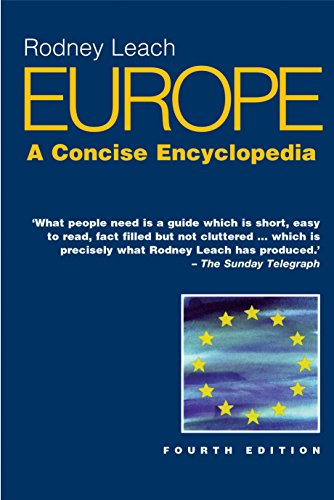 Europe: A Concise Encyclopedia: Leach, Rodney